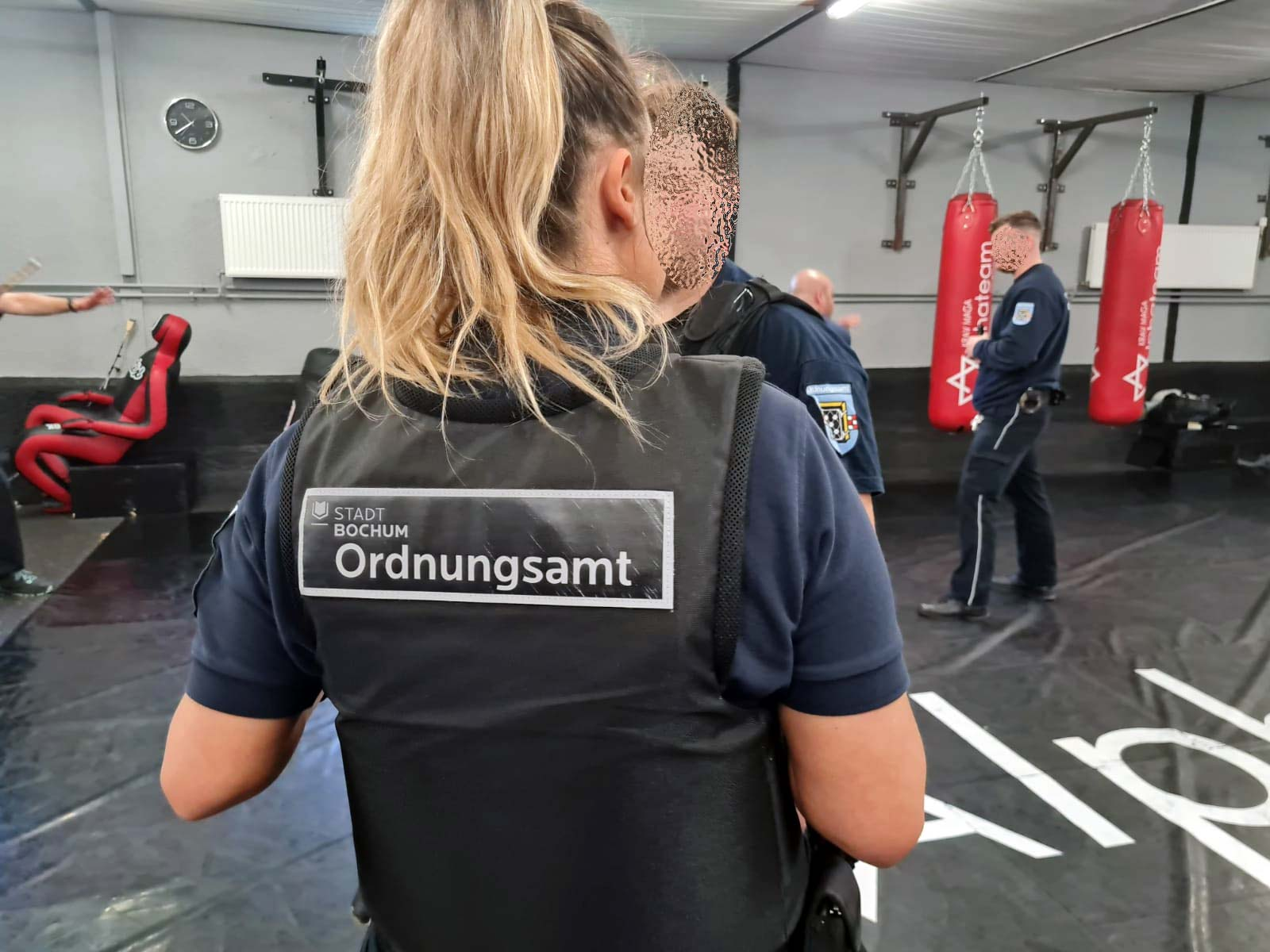 Krav Maga Seminar Ordnungsamt Bochum 1